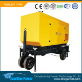 generatore portatile mobile di generazione diesel elettrico del rimorchio di potenza di motore 4-Stroke