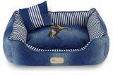 100% Denim + PP Algodão New Style Pet Bed para cão