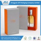 Caja de embalaje de aceite esencial de cartón personalizado con bandeja interior