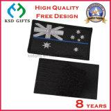 Flarden van pvc van de Vlag van de Douane van de hoogste Kwaliteit de Rubber met Haak & Lijn op Achtereind