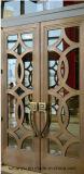 Esterno dei doppi portelli del metallo/decorazione portello del metallo/portello di rame di Lmitate