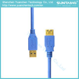 USB3.0 к удлинительному кабелю USB с раковиной металла для компьютера