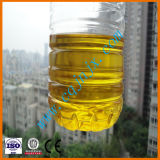 Petróleo de la pirolisis del neumático de Jnc que recicla la máquina plástica de la destilación del refino de petróleo