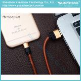 2017 быстрый поручая кабель USB кожи 8pins для iPhone5 5s 6 6s 7