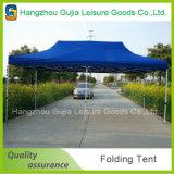 Haltbarer Stahl angepasst, abnehmbares faltendes Zelt für Handelsereignisse bekanntmachend