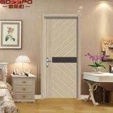 Puerta de madera del panal de papel del PVC del cuarto de baño (GSP13-007)