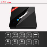 Cadre androïde de Kodi TV de CPU Rk3399 H96 IPTV de résolution en gros du support 4k*2k