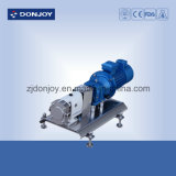 Steel inoxidable Mobile Rotary Lobe Pump avec Gearbox