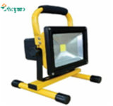 Nouveau 12V 24V10W Rechargeable & Portable LED Outdoor Lighting Camping Solar Floodlight
