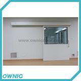 大きく平らな眺めガラスが付いている新しい自動密閉引き戸