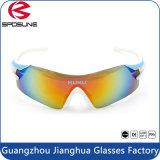 Form Anti-Löschen des Cer-En166 komprimierende Sport-Schutzbrillen Sport-der Sonnenbrille-UV400 für Fahrrad