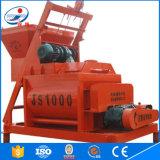 Mezclador concreto móvil avanzado Js1000 del control eléctrico para la venta