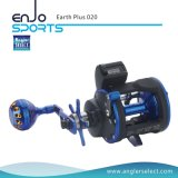 Earth Plus Trolling Reel 3 + 1 Bb / Hand Handle Fishing Reel para água salgada e água doce (Earth Plus 020)