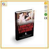Servizio di stampa duro poco costoso del libro del coperchio del migliore venditore di buona qualità