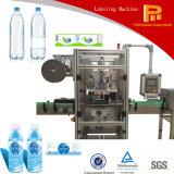Máquina de etiquetado automática de la funda del encogimiento de la botella redonda para la escritura de la etiqueta del PVC