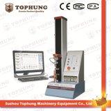 Material de goma de la sola columna que dobla la máquina de la prueba de fuerza extensible (TH-8203A)