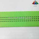 25 mm Lime Green Polyester Nylon Tubular Webbing com 3 Tracer Thread