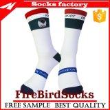 Einfacher Entwurf der Nylon-komprimierenden Socken mit Qualität