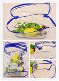 Costomized freie pp. Plastikschönheits-Beutel mit Reißverschluss