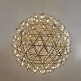 Lámpara ligera pendiente moderna del fuego artificial de la bola del LED