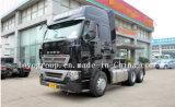 고품질 HOWO T7h 6X4 남자 엔진 트랙터 트럭