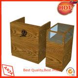 Contadores contrarios de escritorio de madera de la visualización para los departamentos