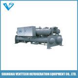refrigeratore di acqua gemellare raffreddato ad acqua del compressore della vite 245ton