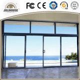 Venta directa de aluminio modificada para requisitos particulares fábrica de las puertas deslizantes de China