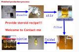 Raw Anabolic Steriod Hormona en polvo Decanoato de testosterona para el crecimiento muscular