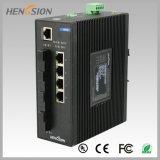 Fx gehandhabter industrieller Schalter des Ethernet-4 elektrischer Kanal und 4
