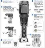 Pompe centrifughe verticali