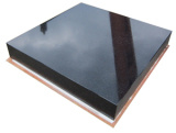 Base nera del granito di precisione per la macchina di precisione