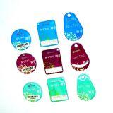 Печатание Ntag215 RFID NFC Epoxy Keytag логоса