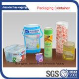 透過装飾的なプラスチック包装ボックス