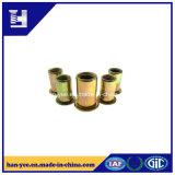 Tuerca de cobre amarillo del OEM de los productos de metal con precio bajo