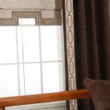 刺繍されるのカスタマイズされたサイズの非常に安いダマスク織大学現代カーテン