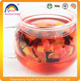 Thé à saveur de thé aux fruits secs et sains