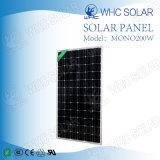 Comitato solare a energia solare dei prodotti 200W PV di buona qualità mono