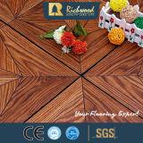 Plancher en stratifié en bois de texture de fibre de bois de la planche AC3 de vinyle du film publicitaire 8.3mm