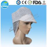 タイを持つPPのNonwoven使い捨て可能な医者Capか外科帽子