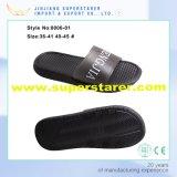 Раскройте тапочку человека ЕВА пальца ноги черную напечатанную верхнюю