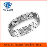 De manier Aangegane Armband van het Paar van de Ketting van het Staal van het Titanium met de Juwelen van het Roestvrij staal