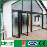 Portelli Bi-Fold As2047 di profilo di alluminio del materiale da costruzione