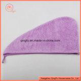 Microfiber buntes Plüsch-Haar-Tuch mit kundenspezifischem Firmenzeichen