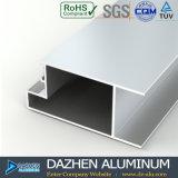 Casement de alumínio personalizado do indicador do perfil da porta deslizante