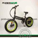 Bicyclette électrique avec la batterie cachée dans le bâti