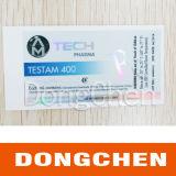 Etiqueta holográfica brilhante dos tubos de ensaio da qualidade superior 10ml