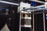 LCD-aanraking Grote Grootte 0.05mm van de Bouw 3D Printer voor Bureau