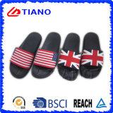 Superior de impresión con banderas PVC zapatilla (TNK35767)