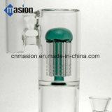 Lle caffettiere a filtro di 3 strati 1 tubo di acqua di vetro di Perc della cupola (AY025)